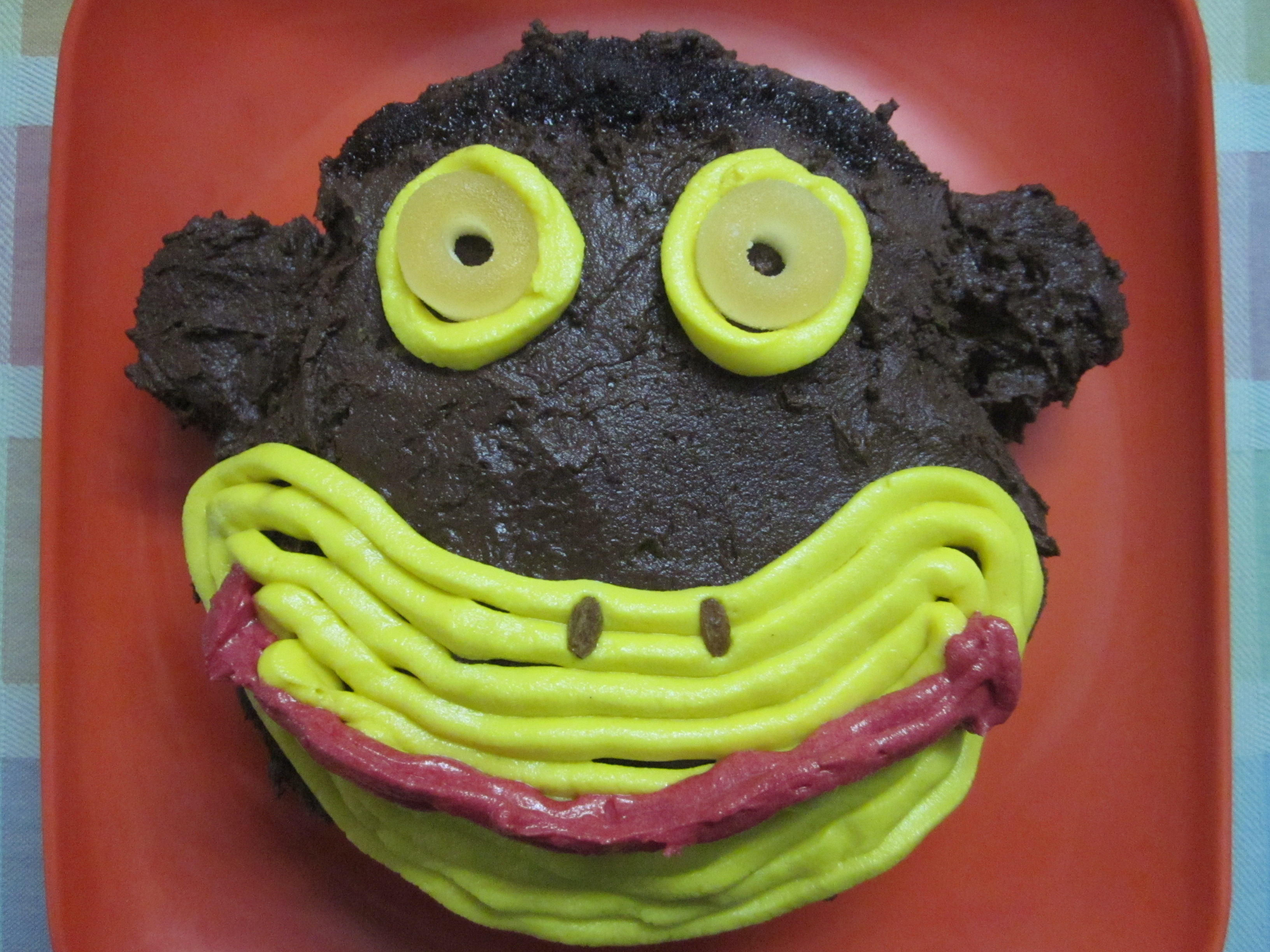 how to make a monkey cake birthday