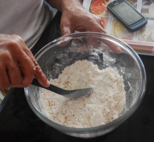 Butter + flour