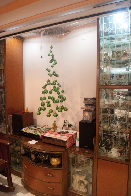 new age Christmas tree