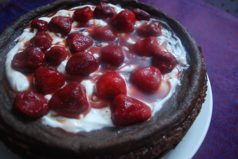 Chocolate cheesecake 5