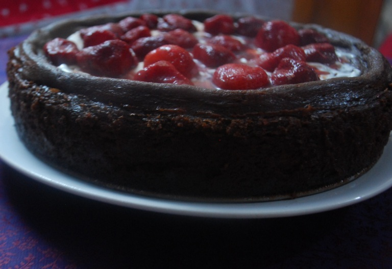 Chocolate cheesecake 3