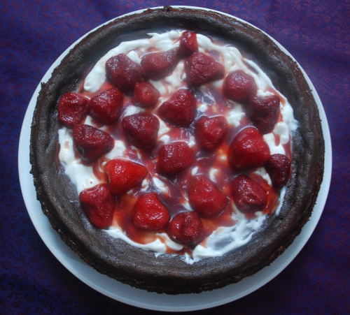Chocolate cheesecake 1