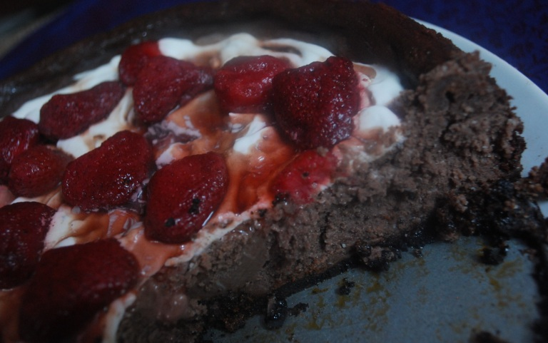 Chocolate cheesecake 7