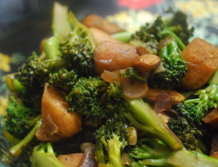 Broccoli sausage stir fry 3