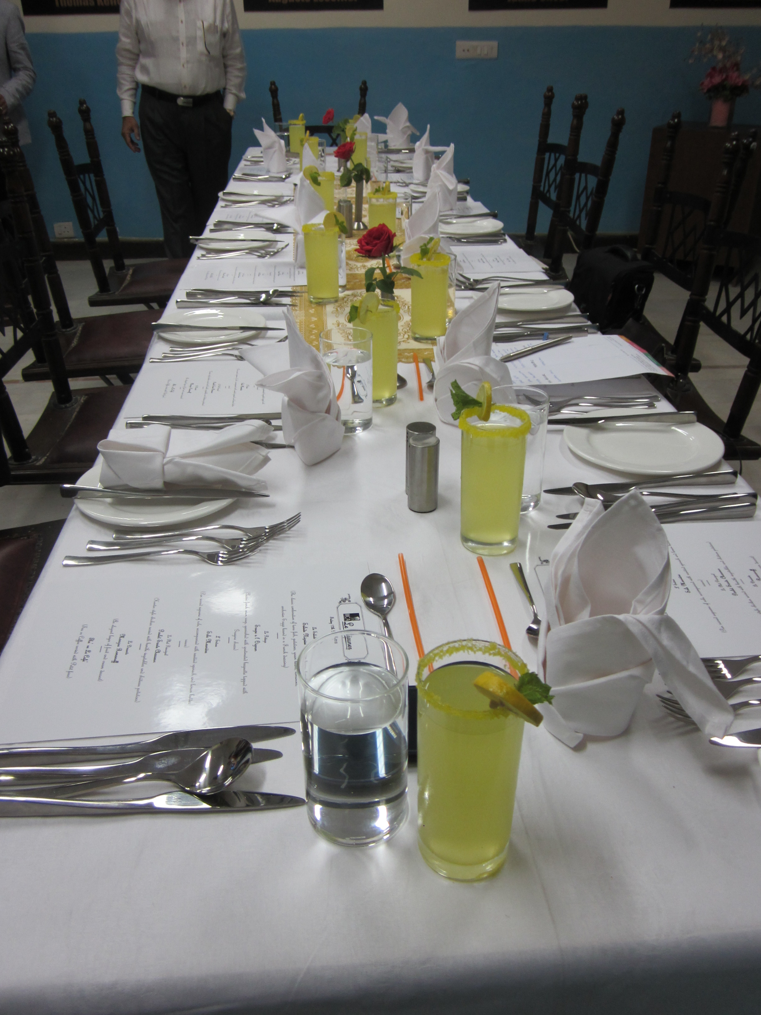 Table Setting In French French Culinarystorm
