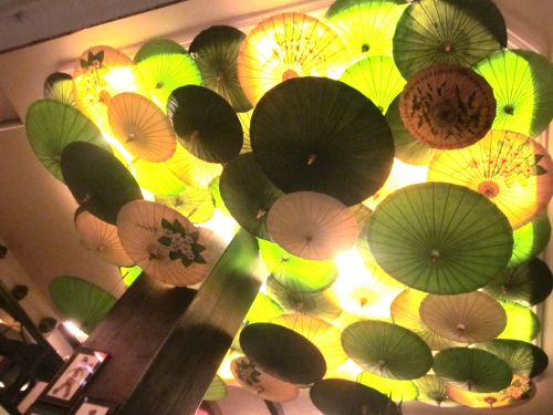 Ego Thai ceiling