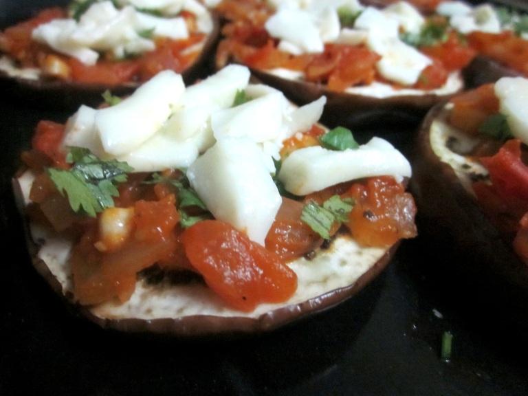 Eggplant pizza 2