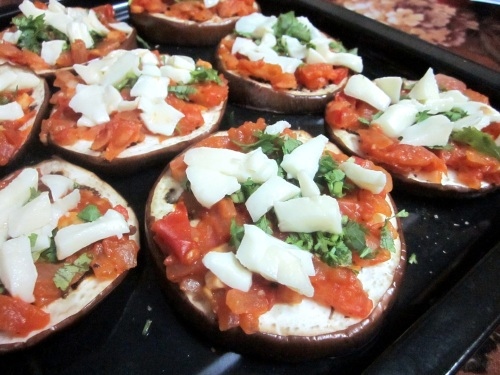 Eggplant pizza 3