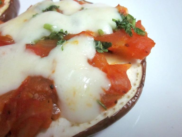 Eggplant pizza 4