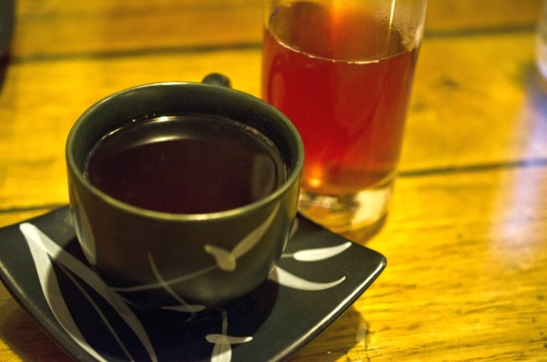 Wild rice tea