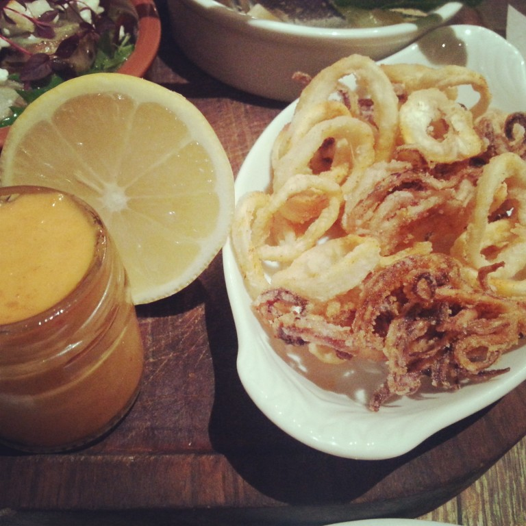 14. Calamari and aioli