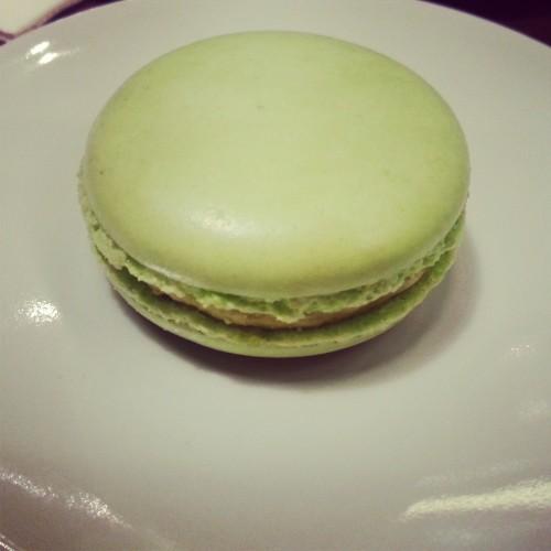 15. Pistachio macaron
