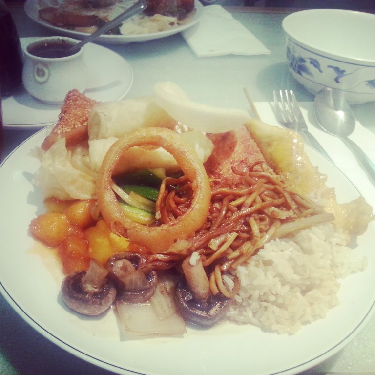 2. China town platter 1