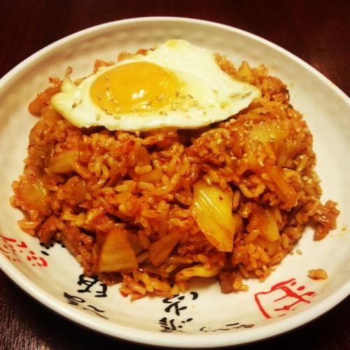 24. Kimchi rice