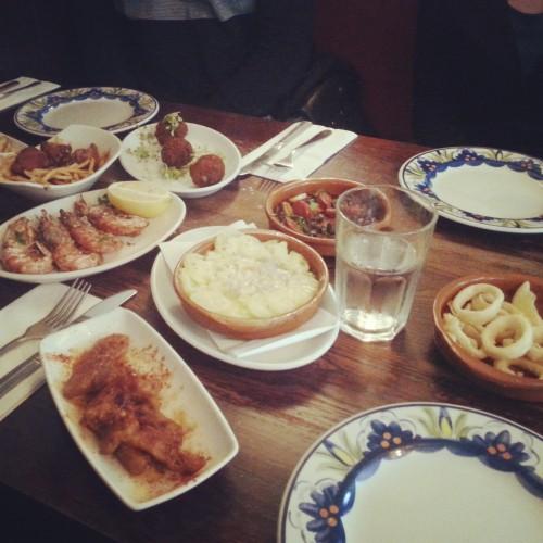 3. A Tapas feast