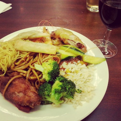35. China town platter 2