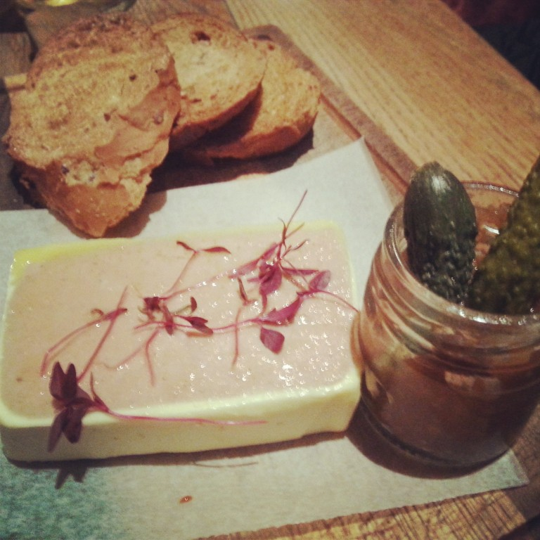 47. Pate and gherkins