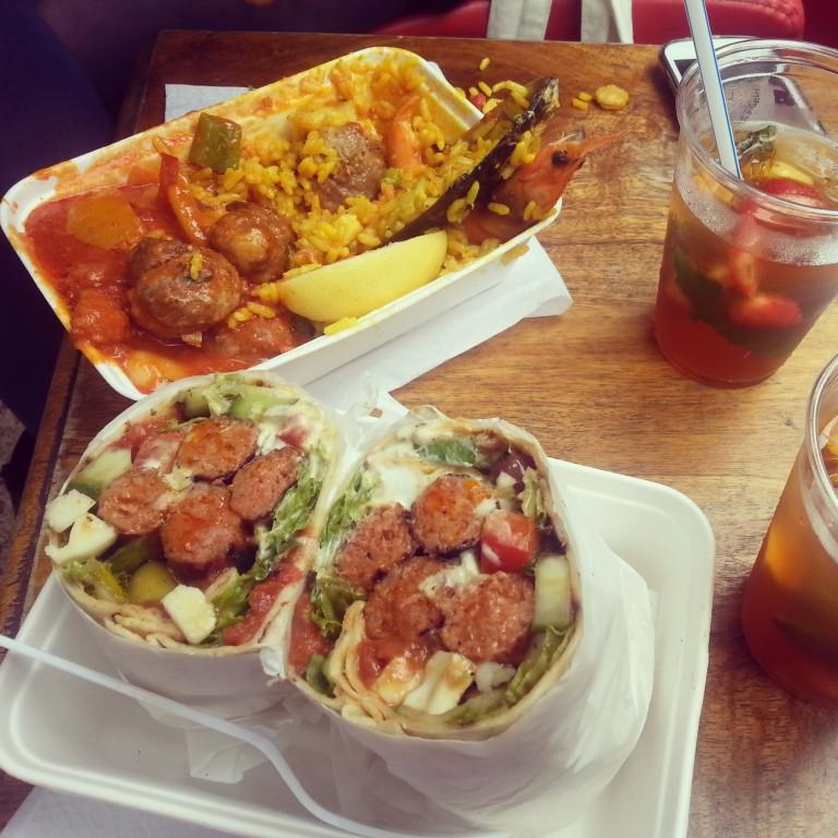 54. Kebab roll