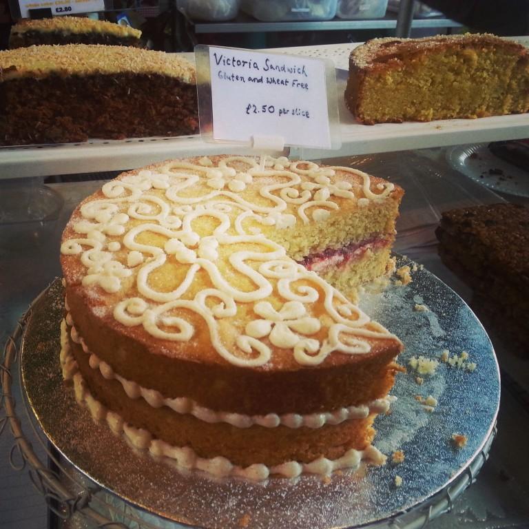 55. Victoria sponge cake