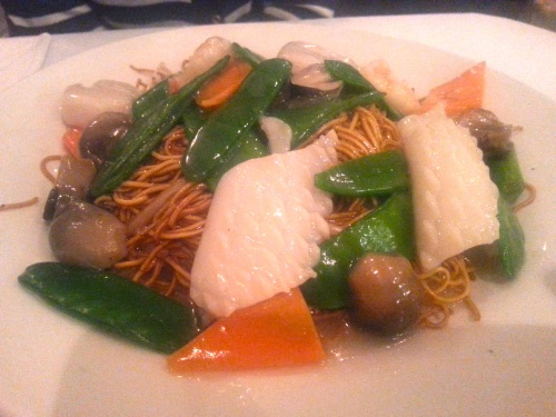 78. Mixed seafood noodles