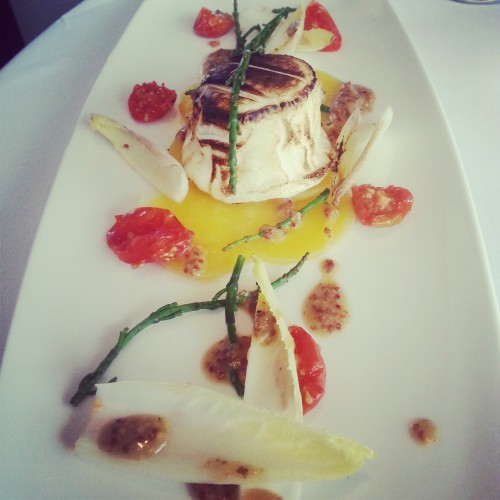 85. Goats cheese fancified