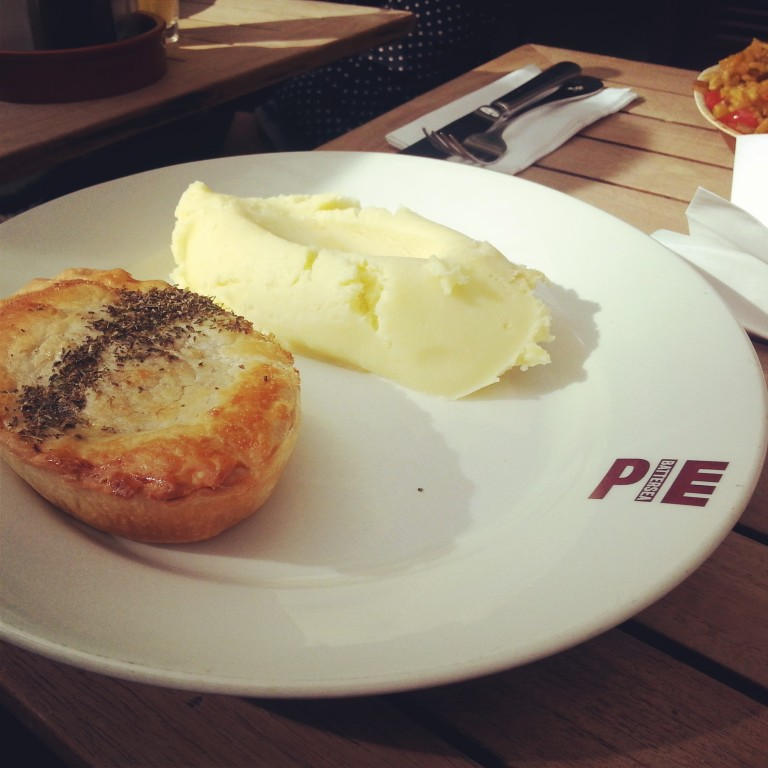 86. Pie and mash