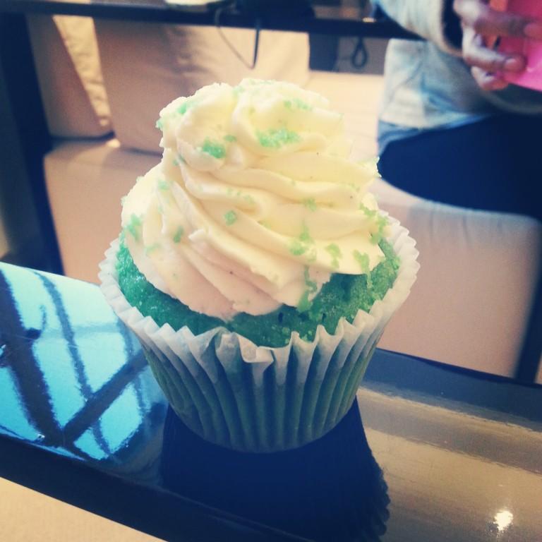 94. Pistachio cupcake