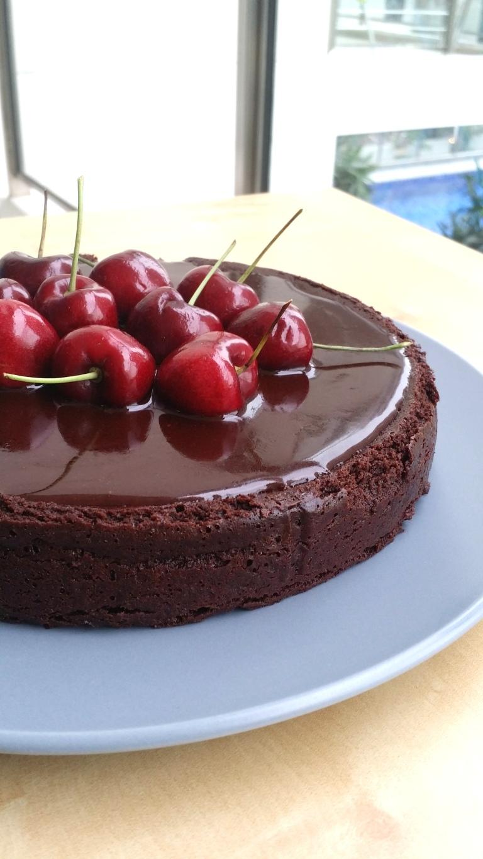 Chocolate rum cake 2