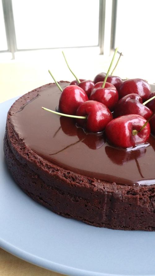 Chocolate rum cake 4