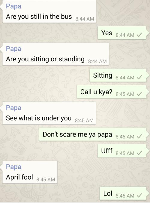 Funny Dad texts 1