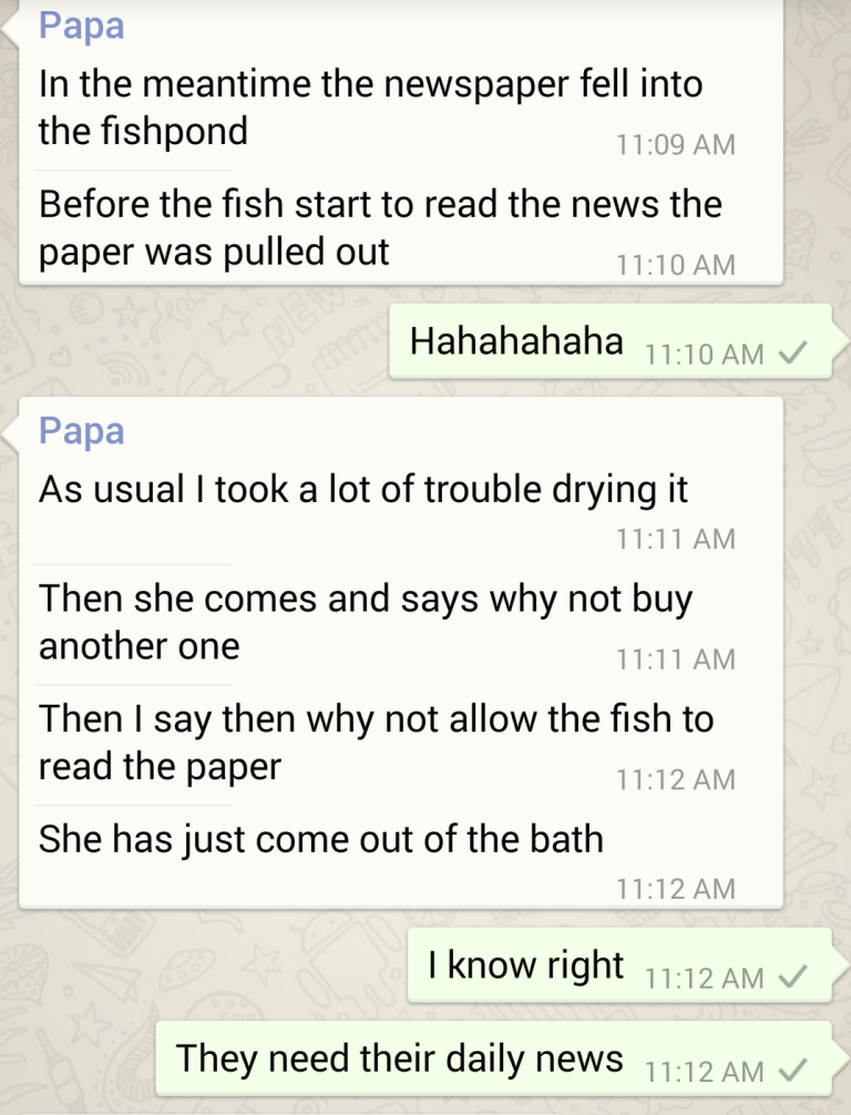 Funny Dad texts 2
