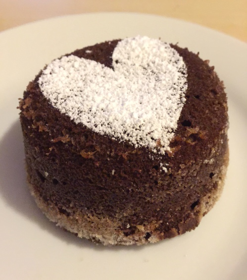 Chocolate lava cake 3