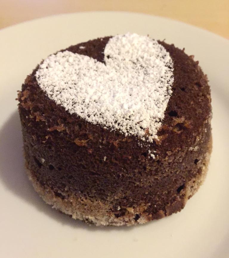 Chocolate lava cake 3