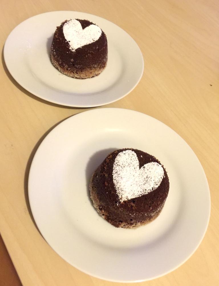 Chocolate lava cake 4