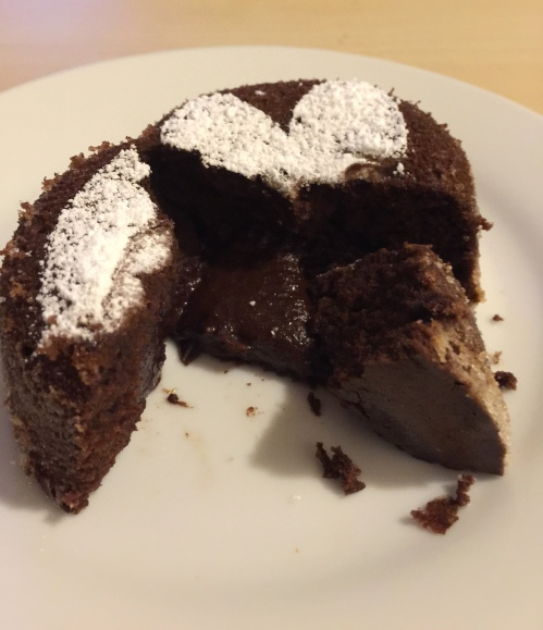 Chocolate lava cake 5