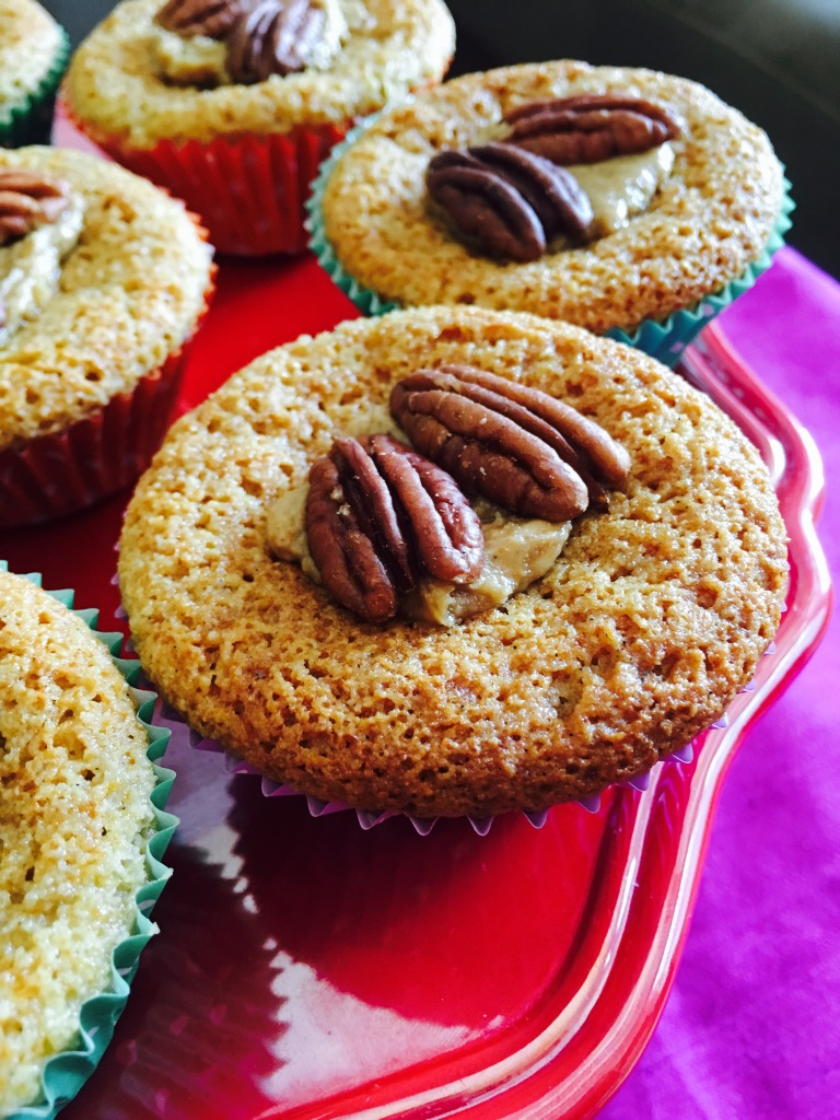 almond cupcake 1